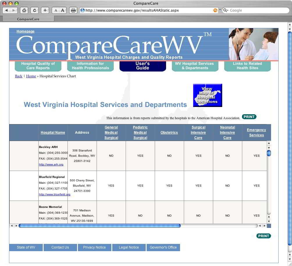 CompareCareWV V1